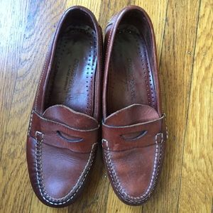 Cole Haan leather penny loafer